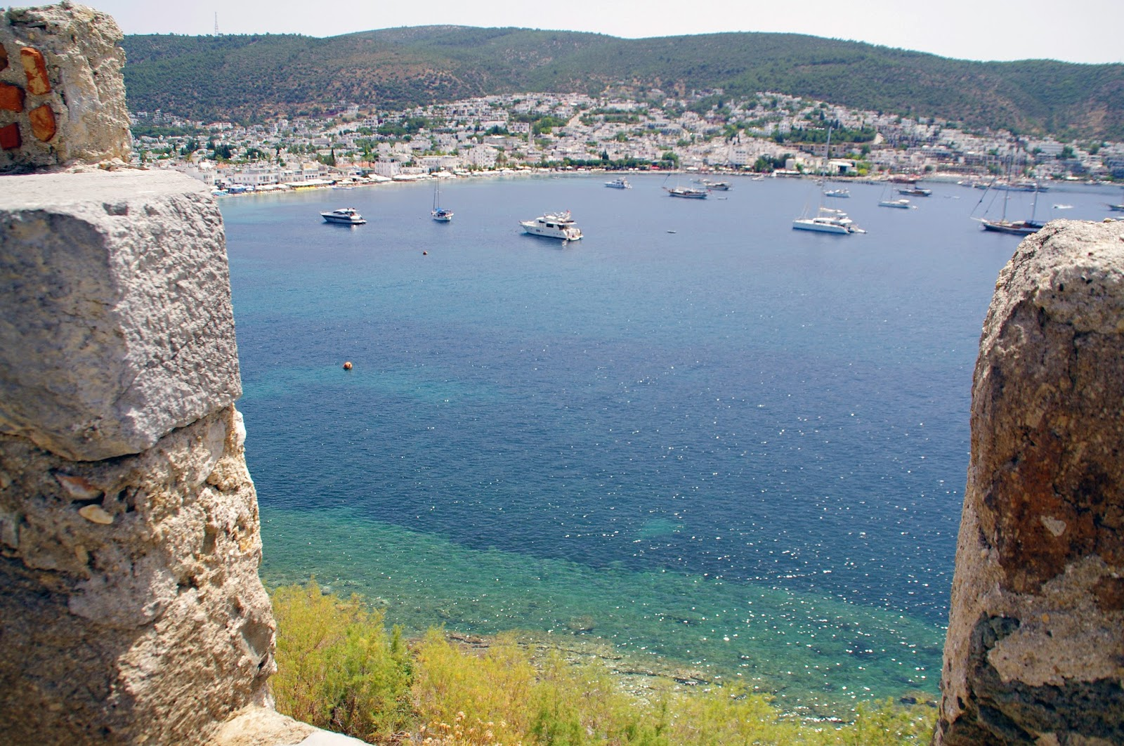 Beautiful Views from Bodrum Castle