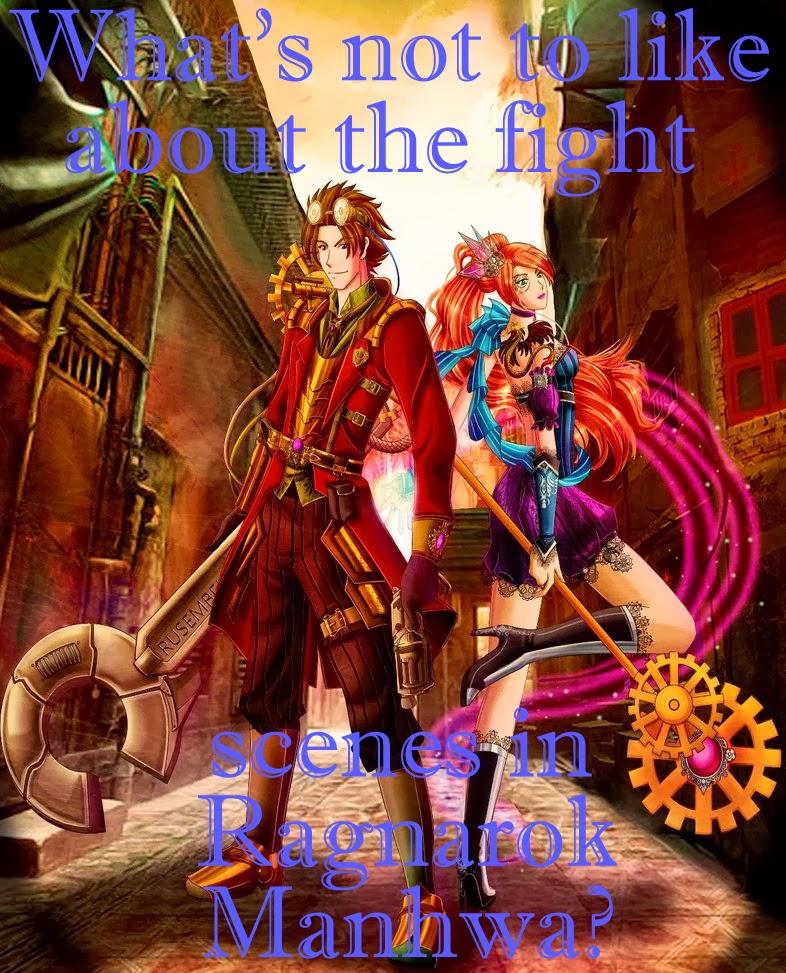 fight scenes, ragnarok: into the abyss, manhwa