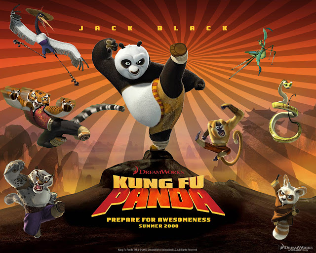 Kung Fu Panda (2008) Movie Dual Audio 720p BluRay 1GB Download