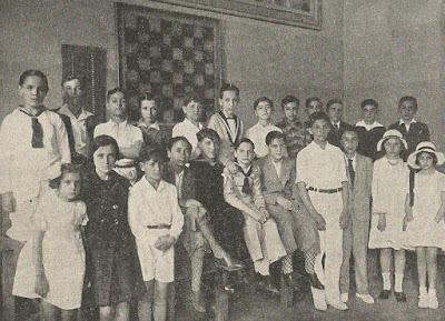 I Campeonato Infantil de Barcelona 1932, ajedrecistas participantes
