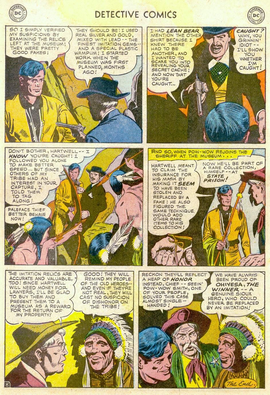 Read online Detective Comics (1937) comic -  Issue #184 - 42