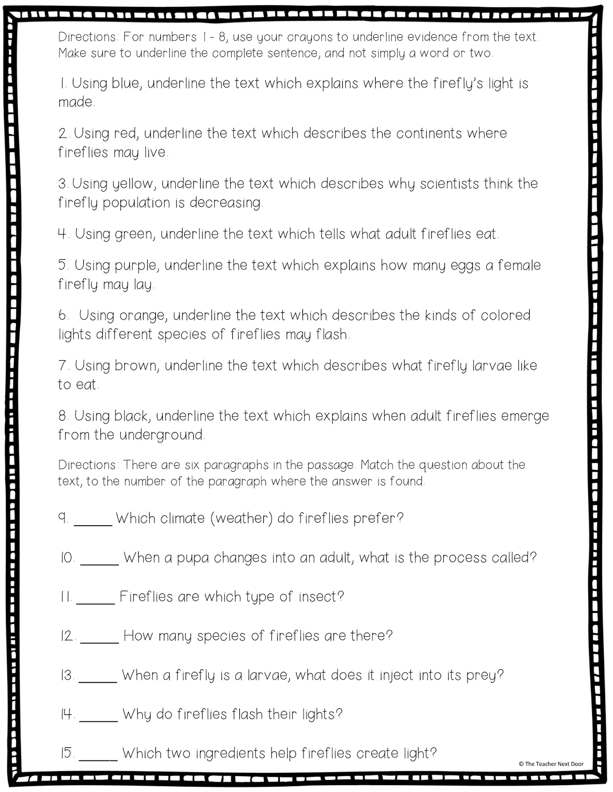 Citing Text Evidence In 6 Steps
