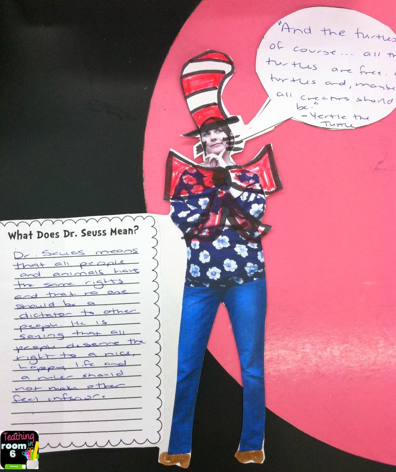 Quoting Seuss Quot Craft Quot Teaching In Room 6
