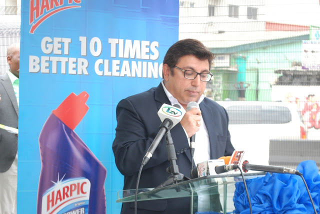 Harpic partners Lagos State Ministry of Environment in commemoration of World Toilet Day