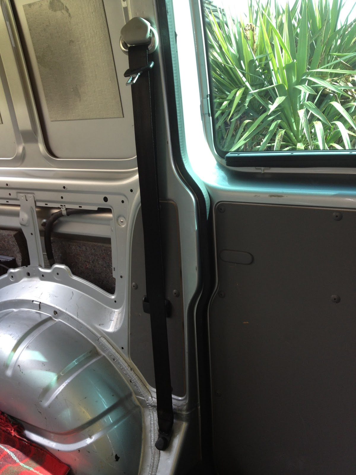 Removing the Seat Belts | VW T5 Van Conversion