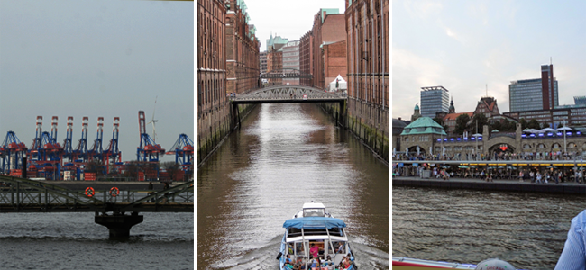 Landmarks in Hamburg, Germany