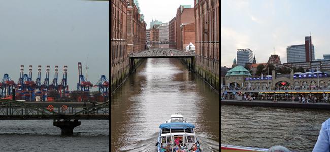 Landmarks in Hamburg, Germany