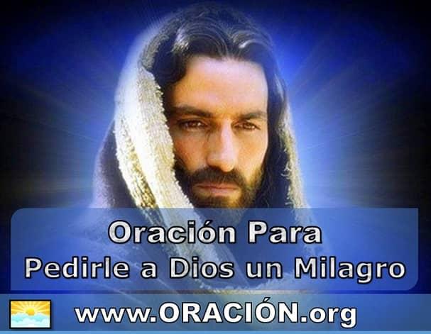 Oración para Pedirle a Dios un Milagro