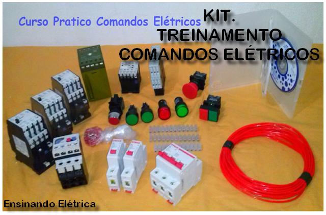 Kits Prático Comandos Elétricos