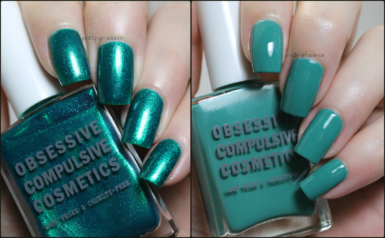 Obsessive Compulsive Cosmetics Man By Man And Chlorophyll