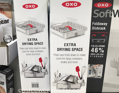 Costco 1103114 - Oxo SoftWorks Foldaway Dishrack: a product worthy of the Oxo name