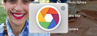 Tampilan Google Camera