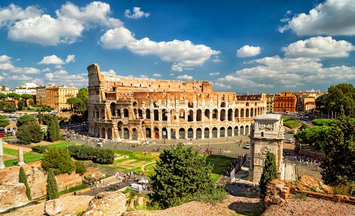 Colosseum Elevator History
