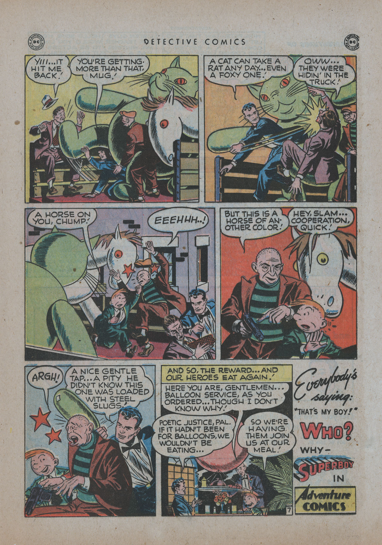 Read online Detective Comics (1937) comic -  Issue #137 - 31