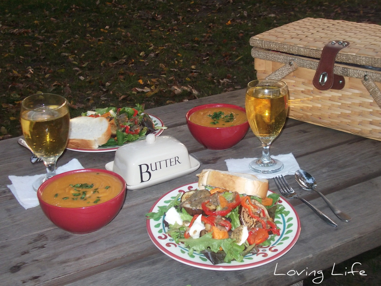 Loving Life: Recipes from our Indian Summer Picnic