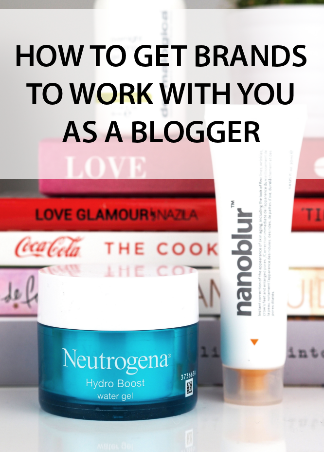 How to get Brands to work with you as a Blogger