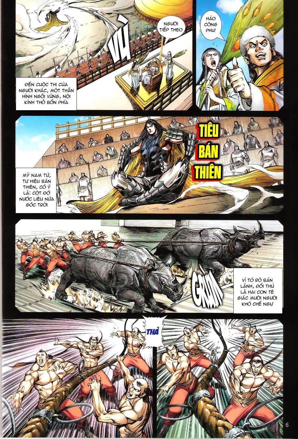 truyện tranh thiết tướng tung hoành Chapter 100/