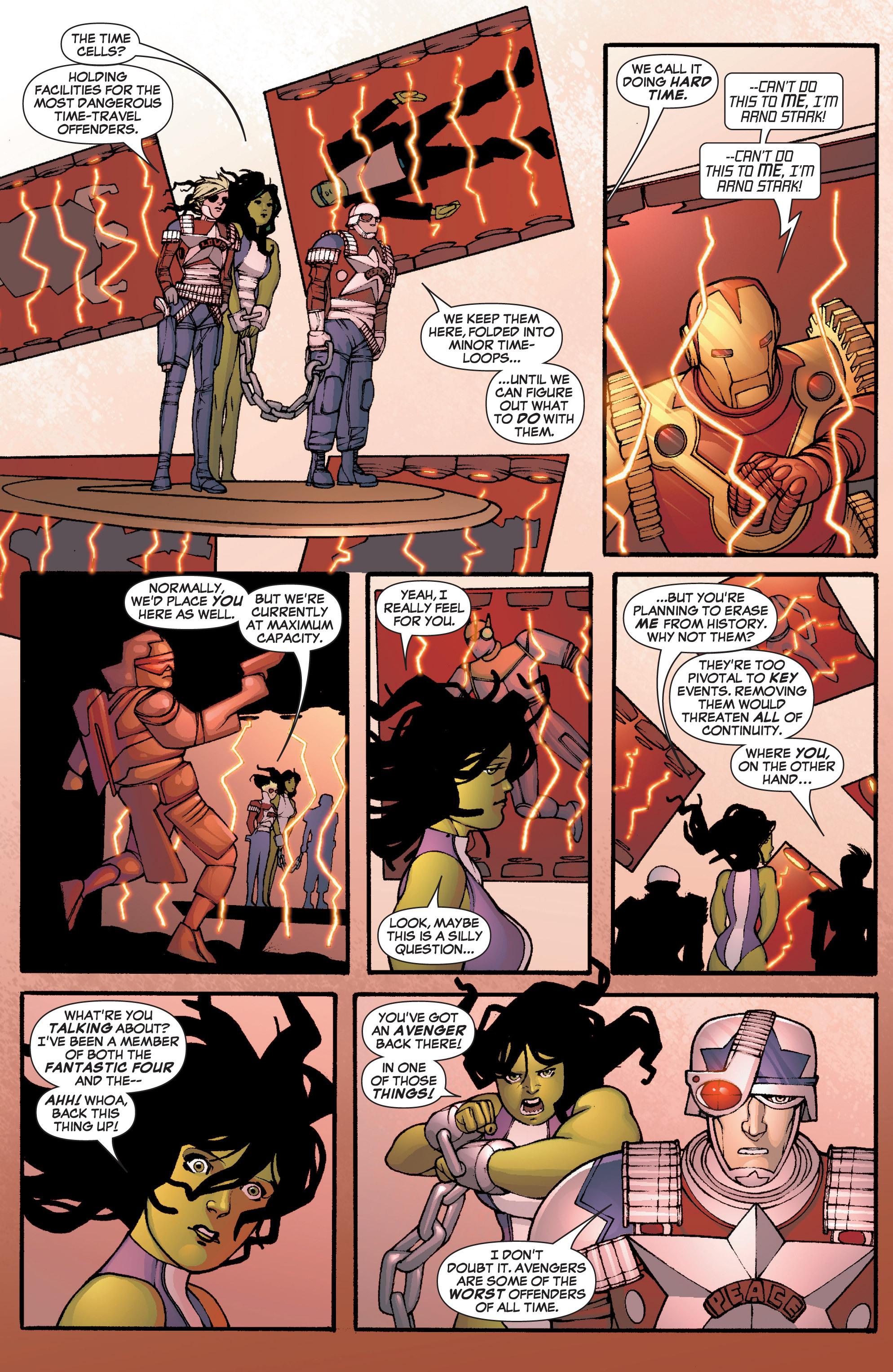 Read online She-Hulk (2005) comic -  Issue #3 - 4