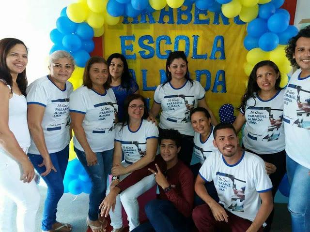 A Escola Almada Lima Filho, comemorou em grande estilo seus 56 anos de fundação.