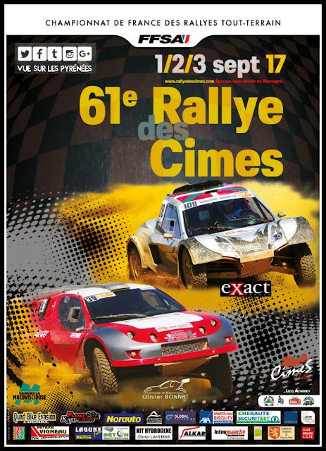 Le Rallye des Cimes 2017