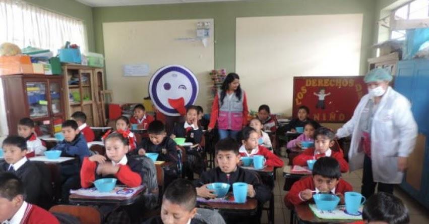 QALI WARMA: Programa social atiende a cerca de 170 mil escolares de Junín - www.qaliwarma.gob.pe