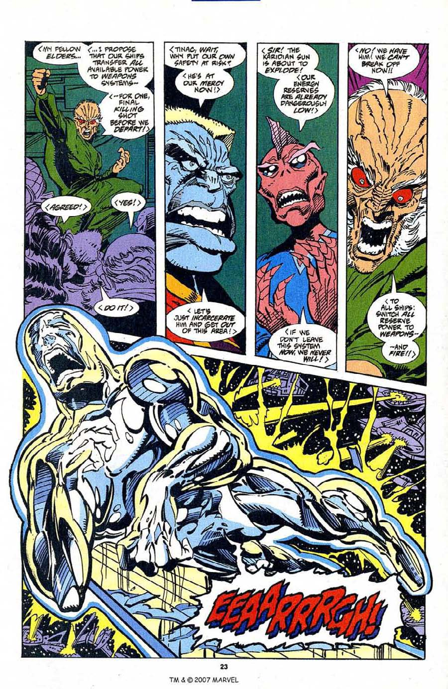 Silver Surfer (1987) Issue #103 #111 - English 25