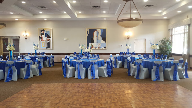 royal blue and silver wedding by eventsojudith, royal blue chair, spandex chair cover