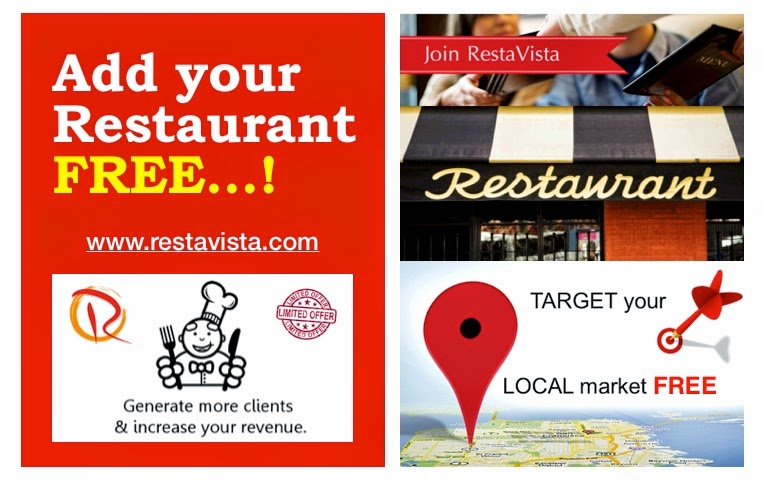 Free Restaurant Advertising Add Your