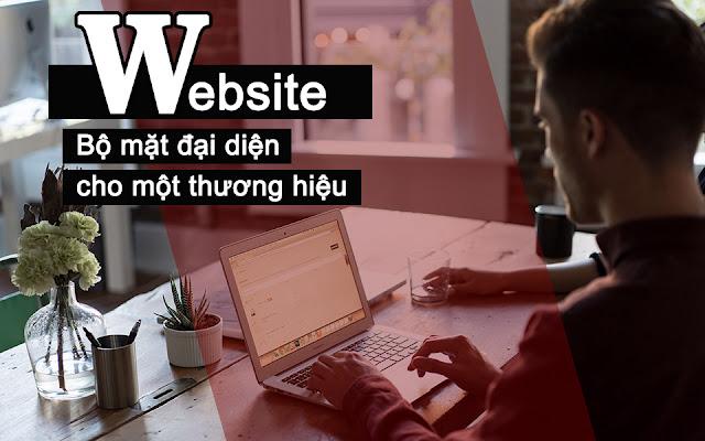 Website - Bộ mặt đại diện cho một thương hiệu