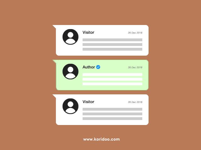 Cara Membedakan Warna Komentar Admin dengan Pengunjung di Blog