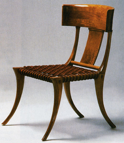 Pretty Inspirational: Icons: Madonna and the Klismos Chair