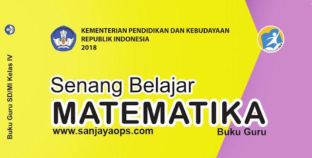 download buku guru matematika kelas 4 kurikulum 2013 tahun 2019 2020