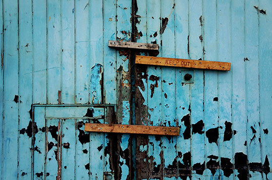urban photography, urban decay, urban photo, keep out, industrial, art, contemporary, photo, Sam Freek,