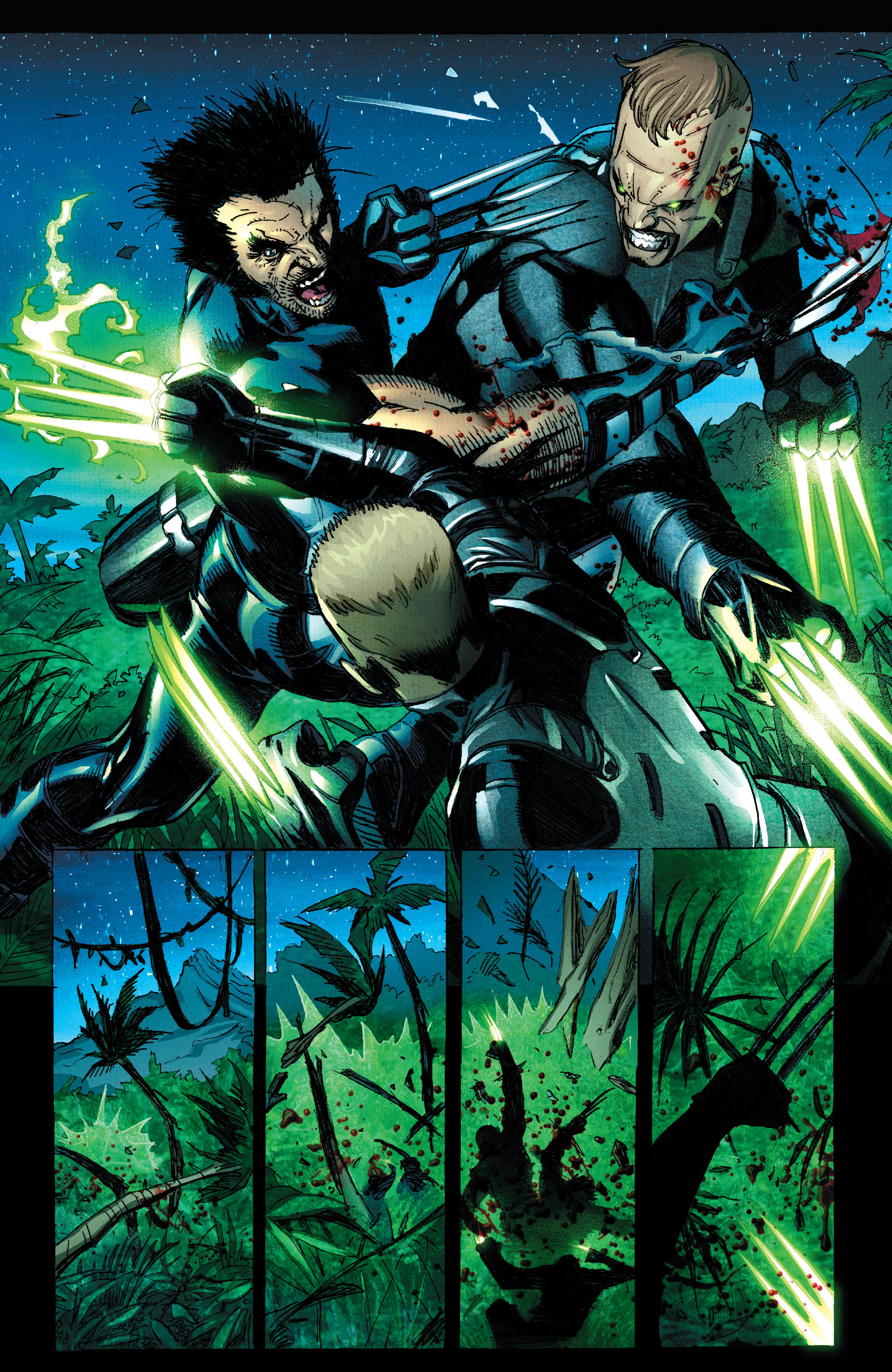 Read online Wolverine: Weapon X comic -  Issue #2 - 19