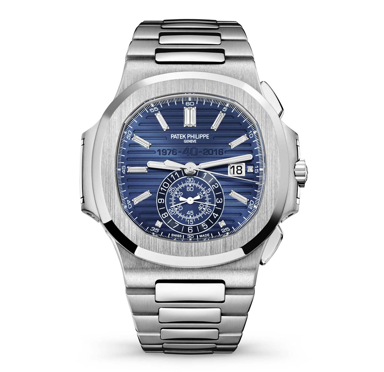 Patek philippe nautilus 40th anniversary time and watches for Patek watches
