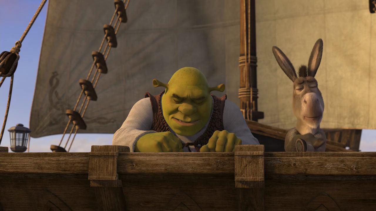 Shrek Tercero (2007) BRRip 720p Latino - Ingles captura 2