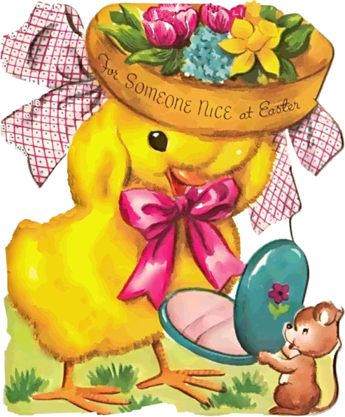 imagenes,png,pascuas,easter,vintage,clipart,tube,decoupage