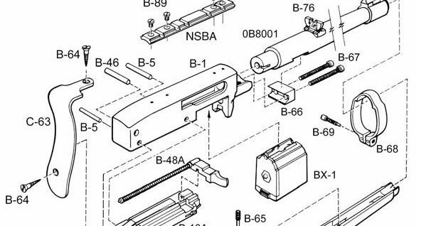 ruger 10 22 parts diagram html