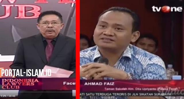 Kesaksian Ngawur AHMAD FAIZ Terkait DITA Dibongkar Karni Ilyas di ILC