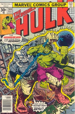 Incredible Hulk #209, Absorbing Man