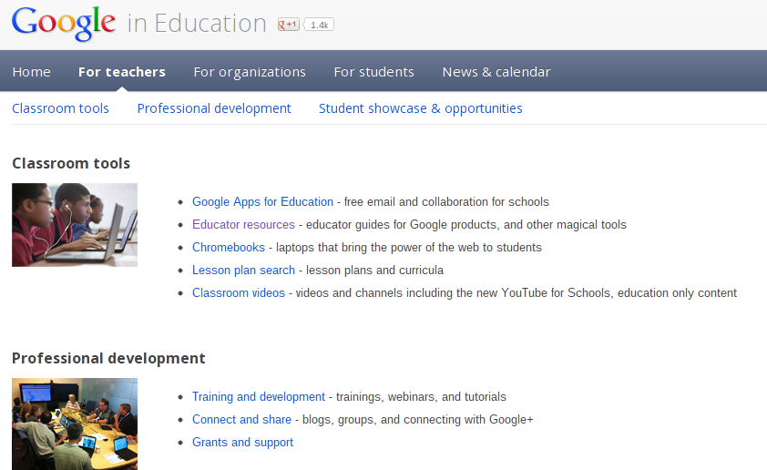 4a9eaea741a Educational Technology Guy  Google in Education - one stop shopping ...