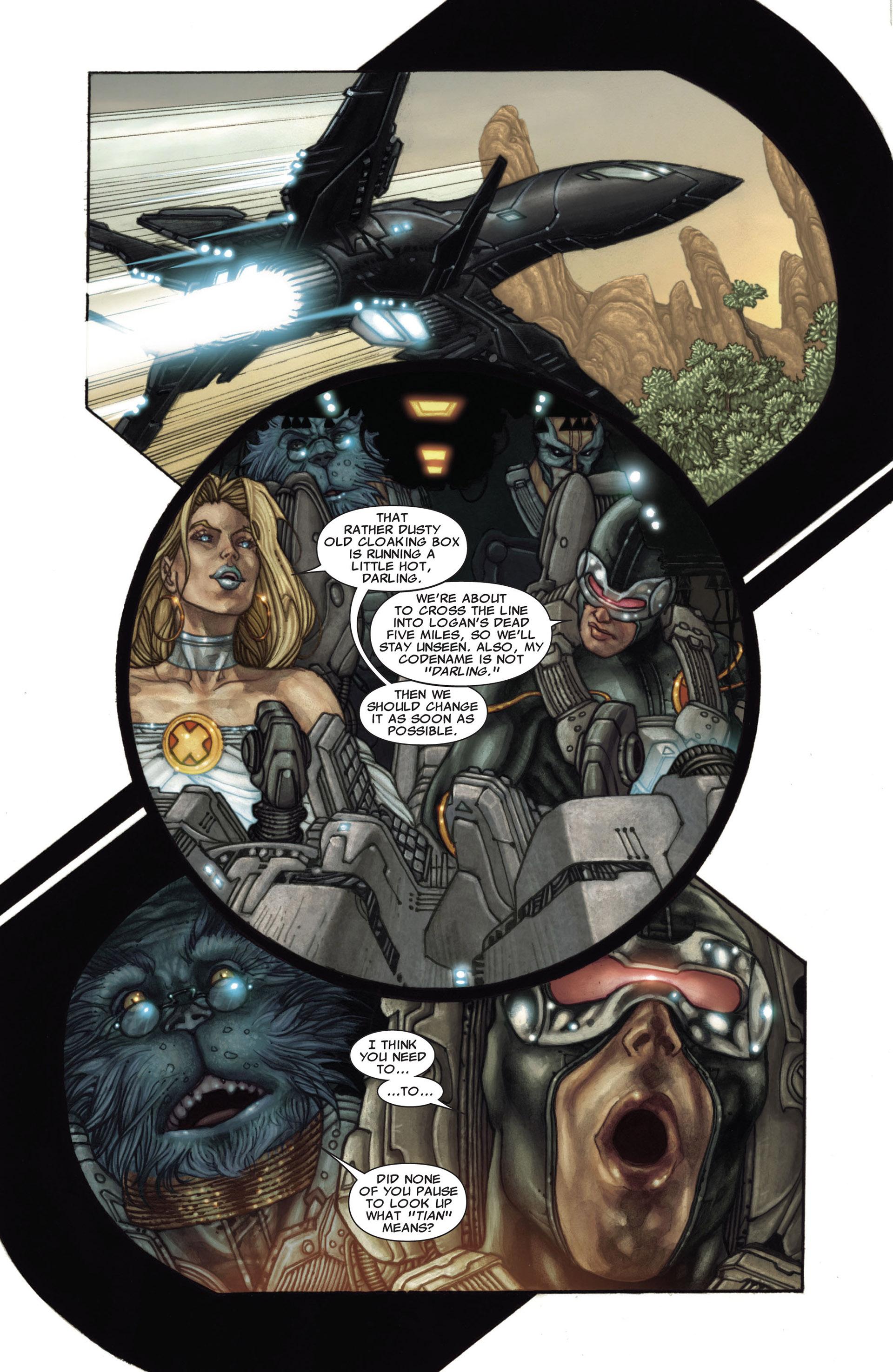 Read online Astonishing X-Men (2004) comic -  Issue #27 - 17