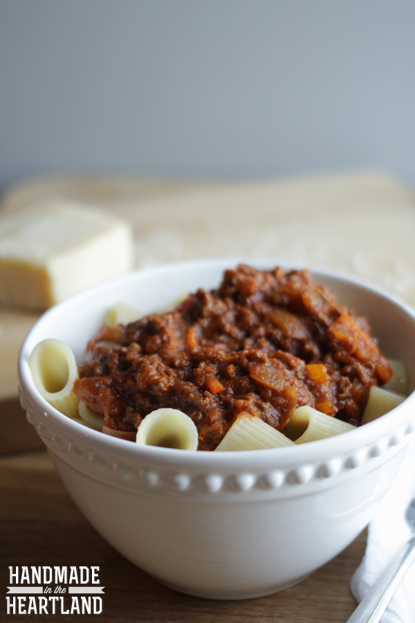 Weeknight Pasta with Jarred Spaghetti Sauce Hack
