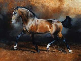 cuadros-ecuestres-pinturas-sorprendentes corceles-pinturas-realistas