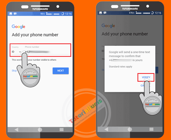 Cara mudah membuat akun Gmail cara membuat akun google menggunakan smartphone Tutorialium