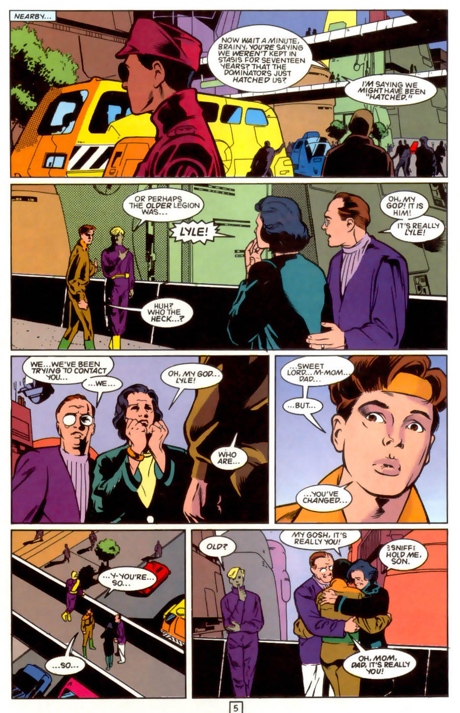 Legion of Super-Heroes (1989) 41 Page 5