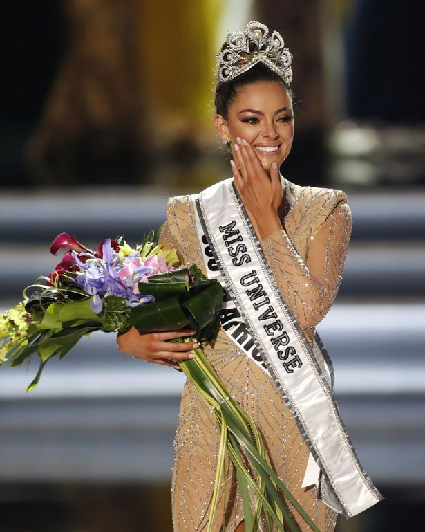 South African self defense trainer crowned Miss Universe ...