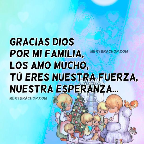 Oración corta cristiana por la familia, gracias a Dios por darme hijos, hermanos. Plegaria corta de acción de gracias y peticiones por Mery Bracho.