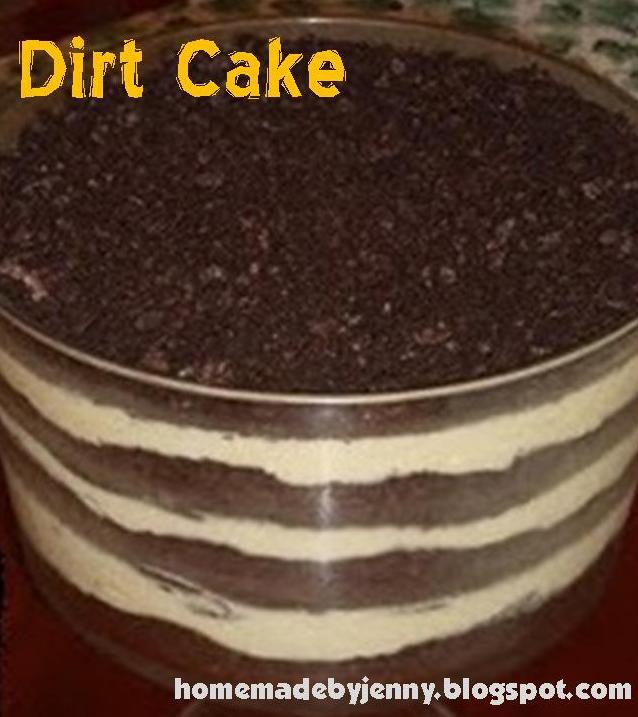 Homemade By Jenny: Dirt Cake