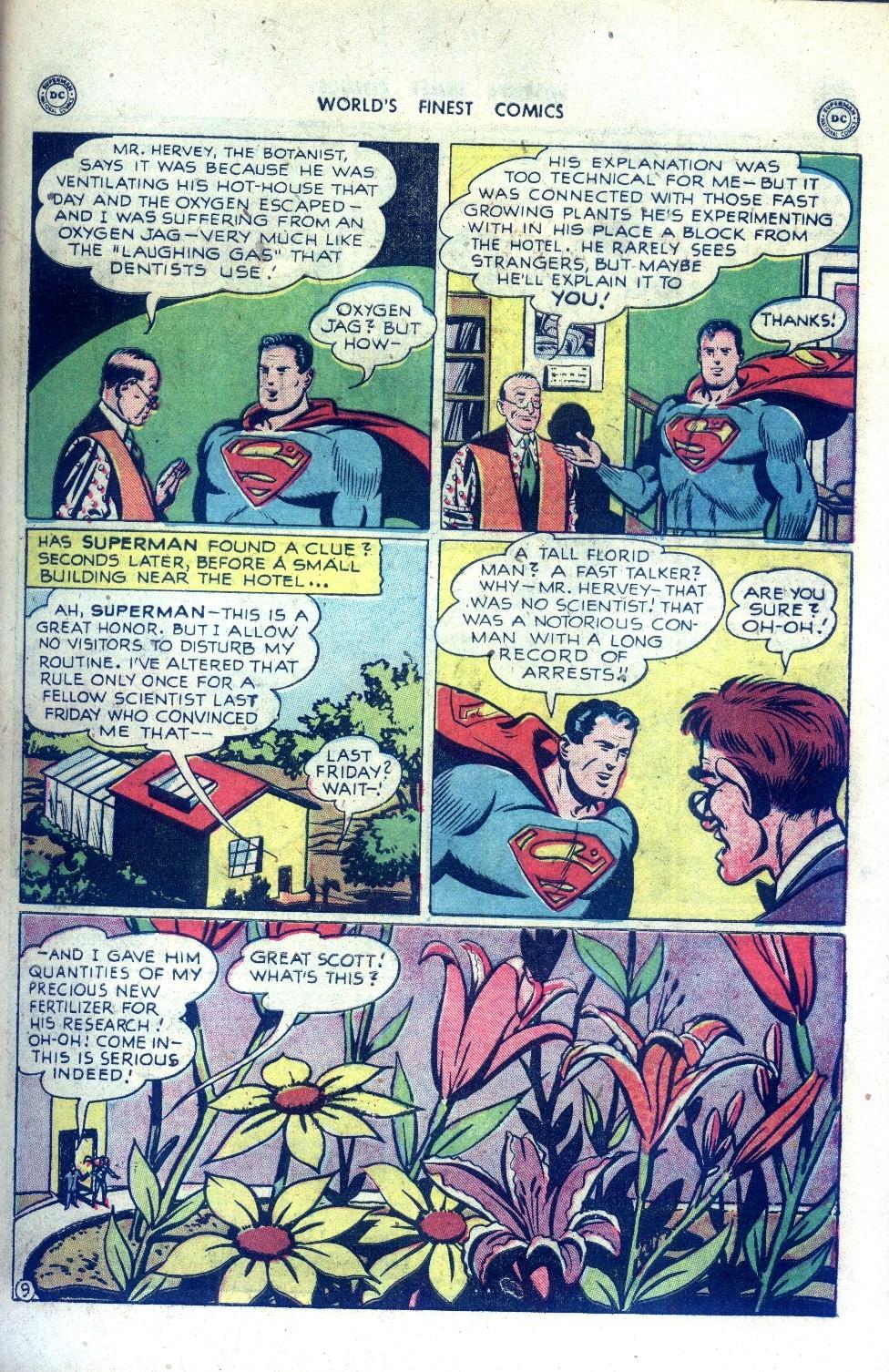 Read online World's Finest Comics comic -  Issue #43 - 11